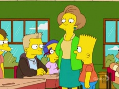 The Simpsons 19x13 : The Debarted- Seriesaddict